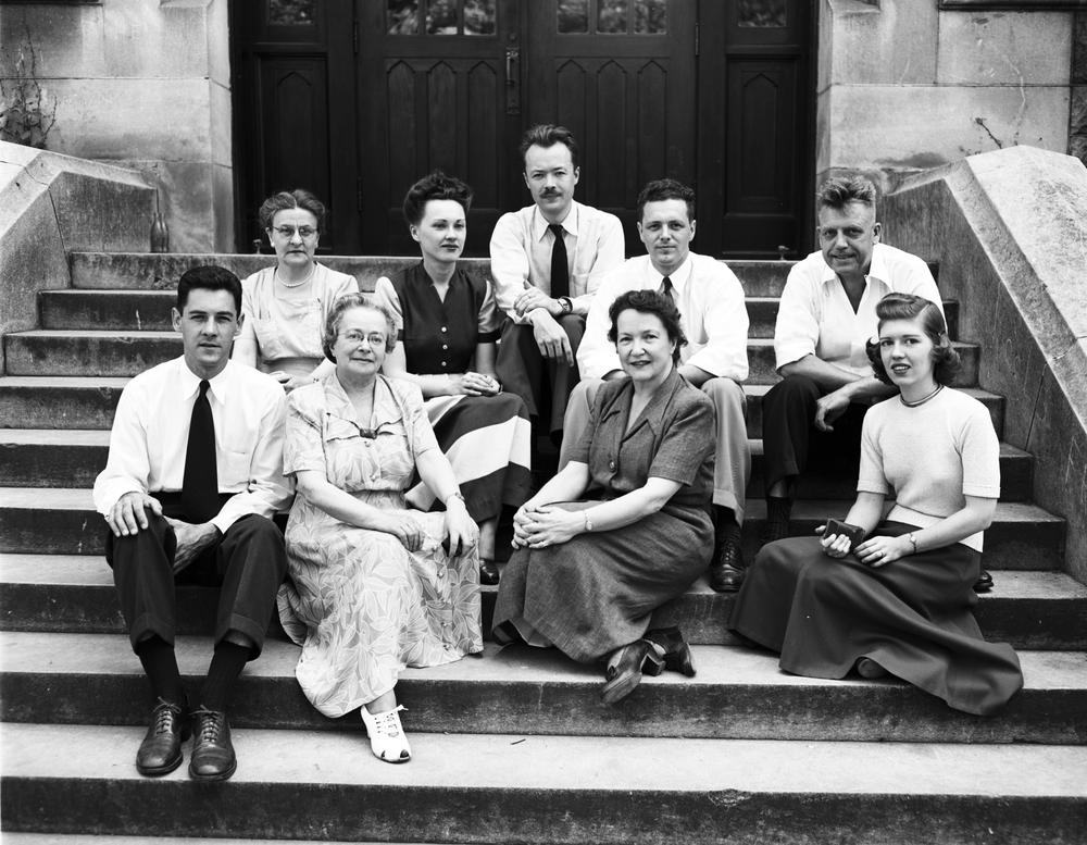 Institute of Sex Research staff, May 4, 1949.
