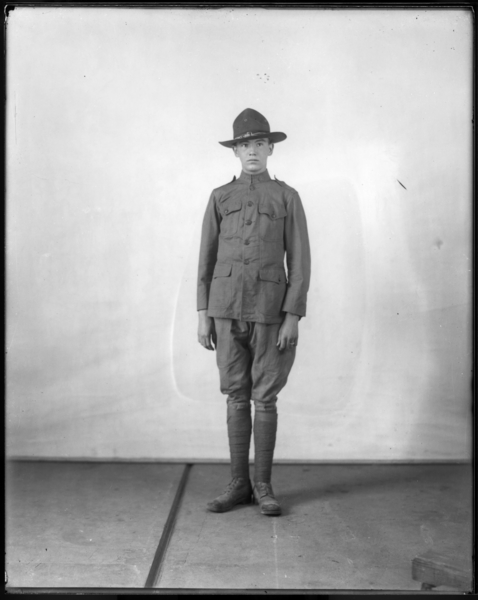 Wiley Scott in Uniform