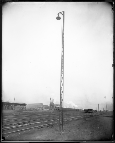 Electric Light Pole, E.J. and E. Yard B