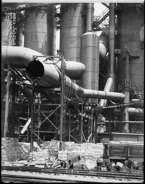 Gas Mains To Boiler House-Furnaces 5 To 8