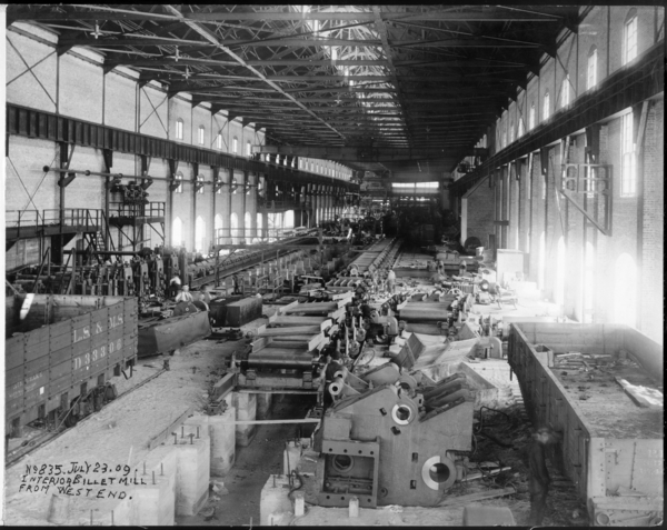 Interior Billet Mill From West End