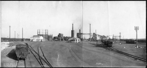 Panorama General View Coke Ovens From West Coke Ovens, Plates #1-2
