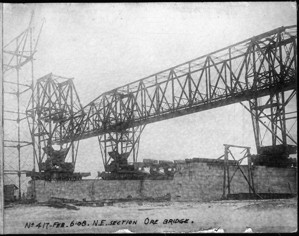 N. E. Section Ore Bridge