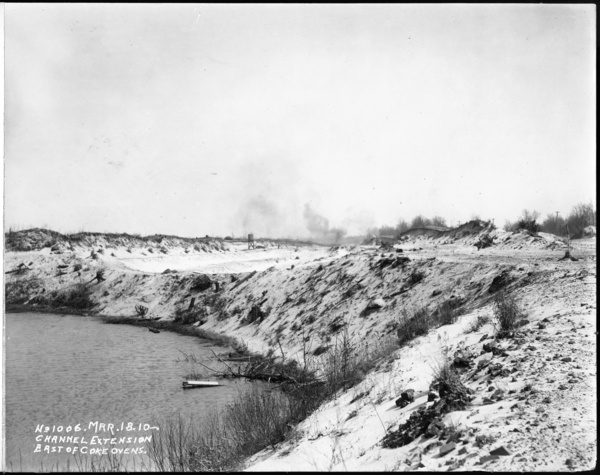 Channel Extension East Of Coke Ovens