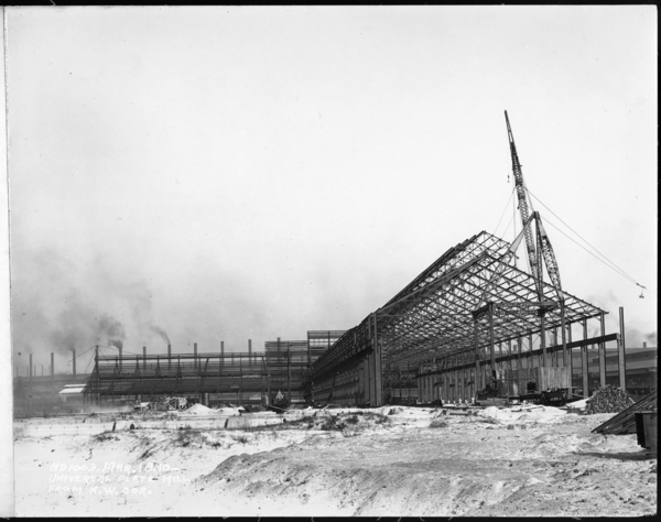 Universal Plate Mill From N. W. Corner
