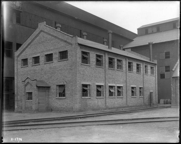 Billet Mill Exterior of New Wash House