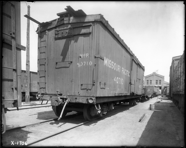 Kirk Yard West and S. Side Box Car Need Repairs