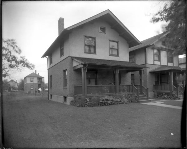 House, 233 Taney Street, Style 62, G.L. Co. 336