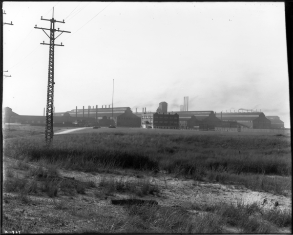 American Sheet and Tin Plate Co., General View of Plant Looking N.W.