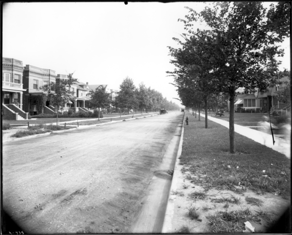 Jackson Street, Looking South from Mid-700 Block