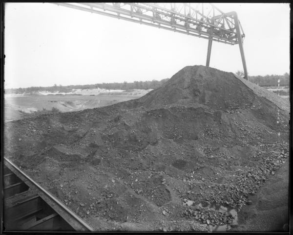 Looking S.W. at Elkhorn Coal Pile, Coke Plant