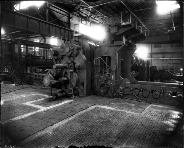Slab Mill Looking S.E. Toward Rolls