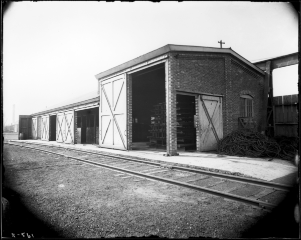 View Looking N.W. in West End Store Yard