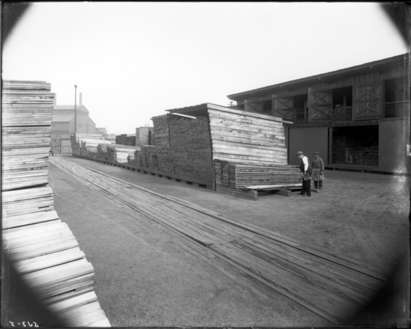 View in Lumber Yard Looking S.E.