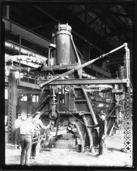 Axle Mill Steam Hammer