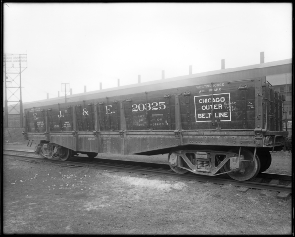 Side Dump Cars, from Side Showing Doors Closed