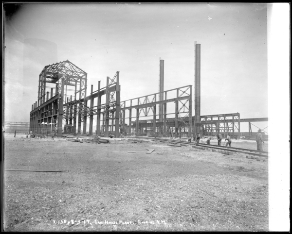 Car Wheel Plant Looking N.W. at Mill Building, Furnace Building, and Electric Building