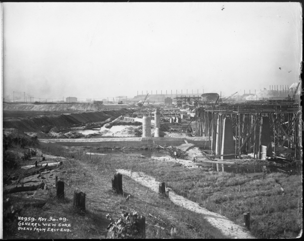 General View Coke Ovens From East End