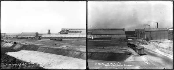 Panorama, N.W. and North from Office Building, Plates #1-2