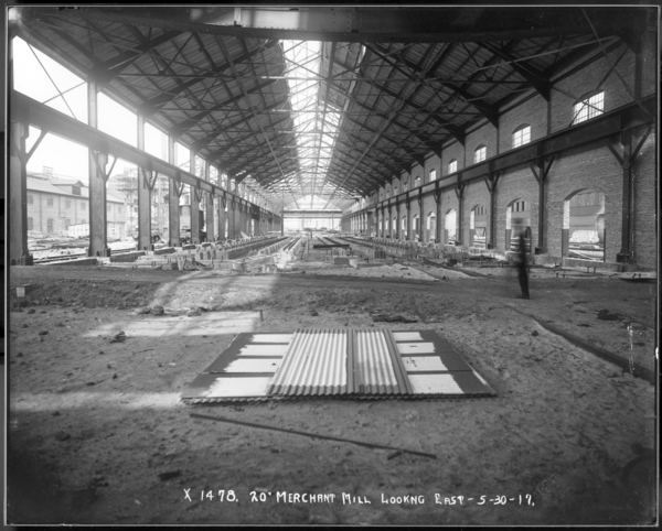 20' Merchant Mill, Looking West