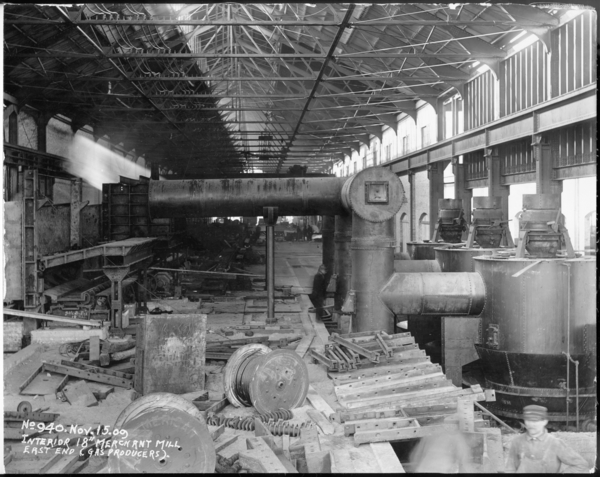 "Interior 18"" Merchant Mill East End (Gas Producers)"