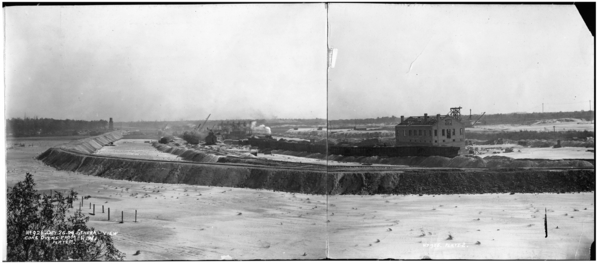 General View Coke Ovens From N. W. , Panorama, Plates #1-2