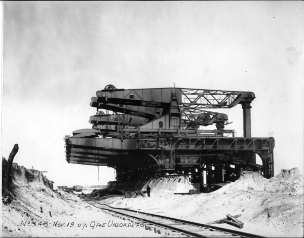 Ore Unloaders, 5 Under Construction