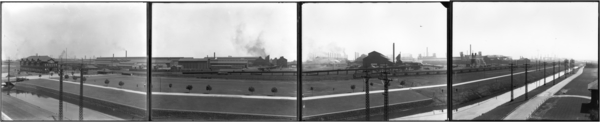 Panorama View of Gary Plant, 4 plates