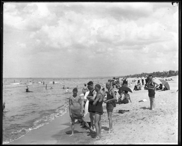 Bathing Beach, Marquette Park