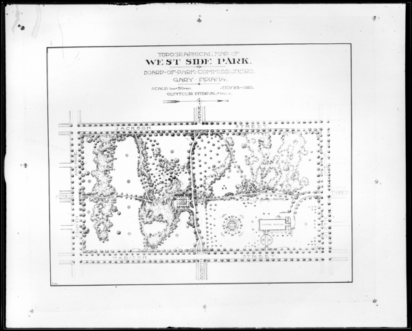 Topographical Map, West Side Park