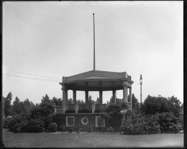 Band Stand, East Side Park