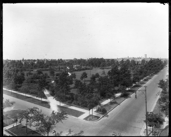 General View, East Side Park