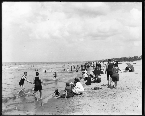 Bathing Beach-Lake Front Park (Marquette Park)