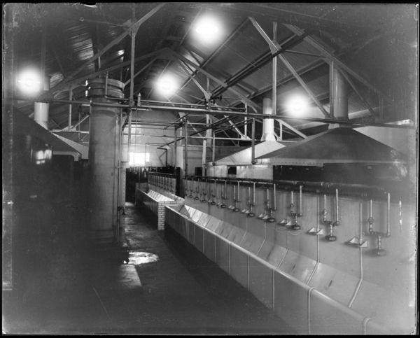 Foundry, Interior of Washhouse