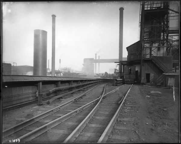 Coke Plant, Same with Locomotive Screening Station
