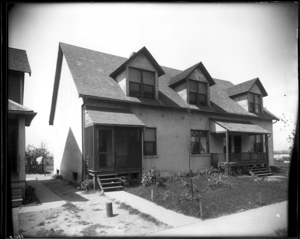 House, 302-06 Tyler Street, Style McNeill Cottages, G.L. Co. #72