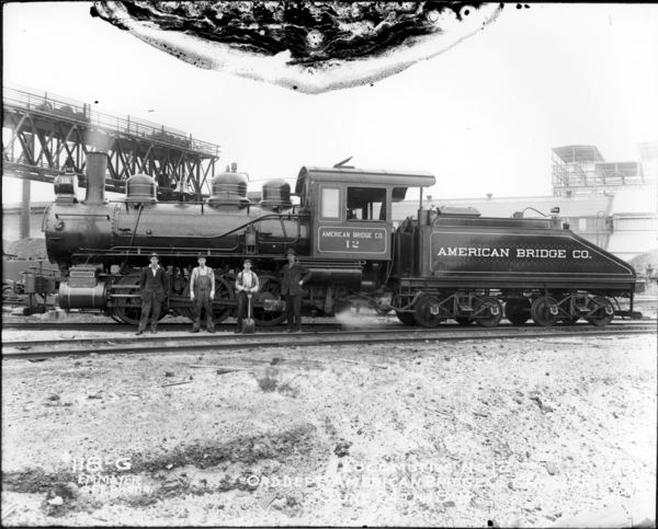 Locomotive No. 12, Order. Dept., American Bridge Co., Gary Plant