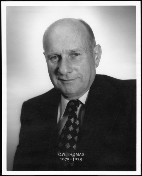 Gary Works Superintendents: C.W. Thomas, 1975-1978
