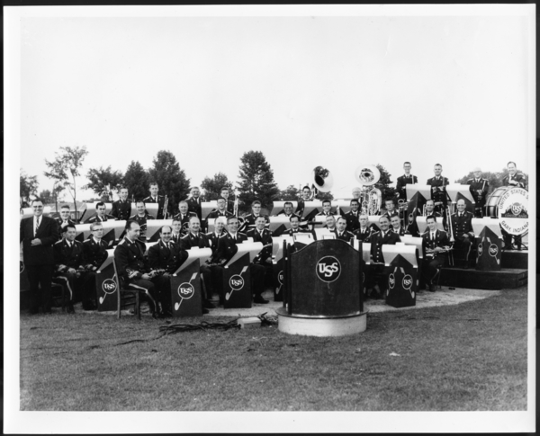 Photographs, USS Carillco Band