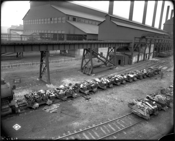 Section of Scrap, 9 buggies #1 O.H.