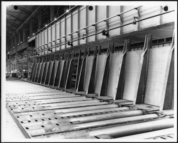 Photographs, 160/210 Inch Plate Mill, USS Gary Works