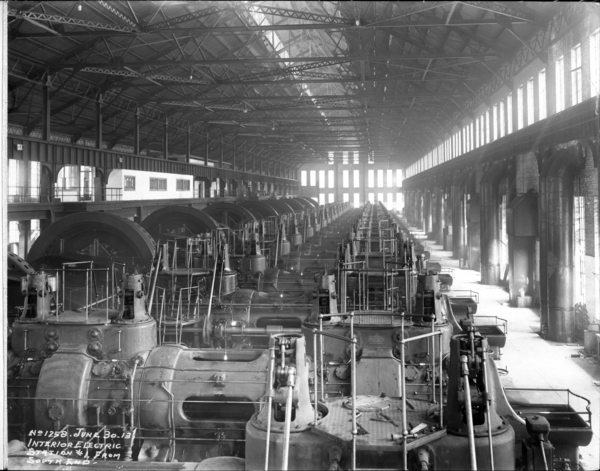 Interior Electric Station #1 from South End