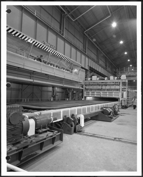Photographs, Continuous Treating Line, USS Gary Works