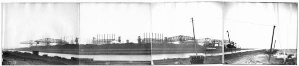 Panorama of Slip and Harbor, Plates #1-3