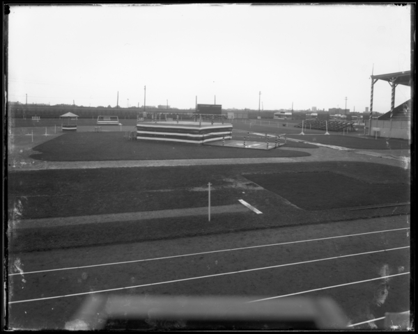 Photos of Gleason Field, Day Before Labor Day