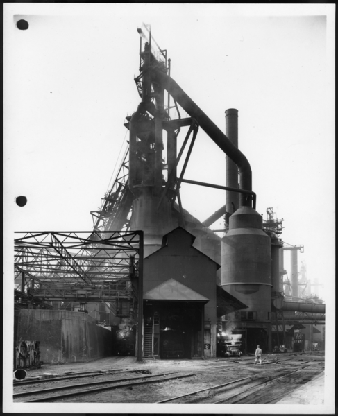 Photographs, Blast Furnace, USS Gary Works