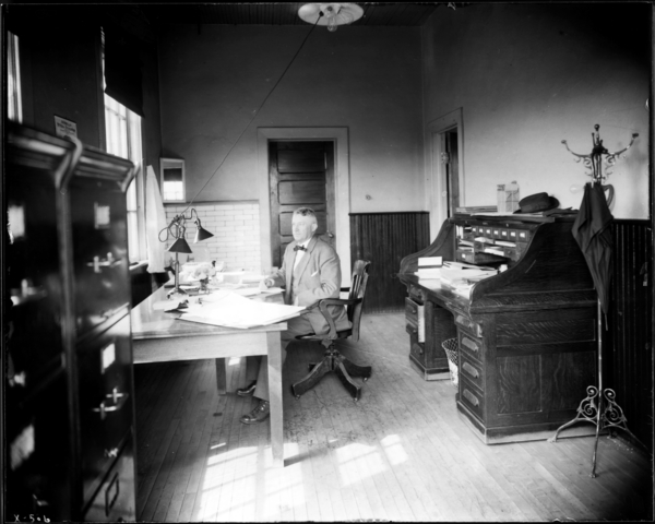 Merchant Mill. J. Sweeney in Office