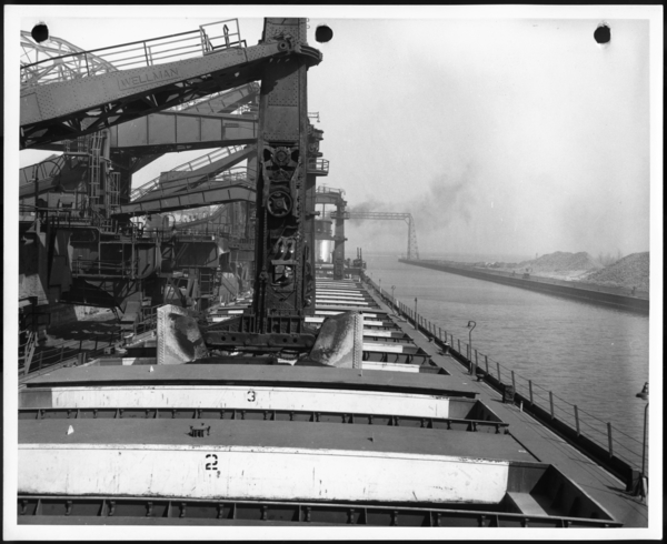 Photographs, Ore Docks/Blast Furnaces USS Gary Works