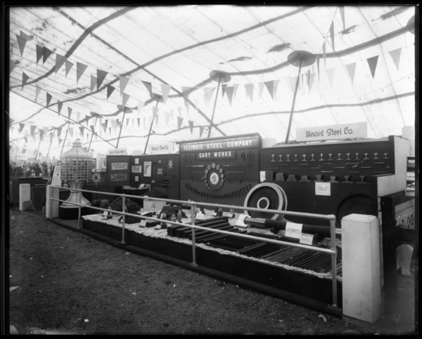 Illinois Steel Co. Booth at Gary Exposition