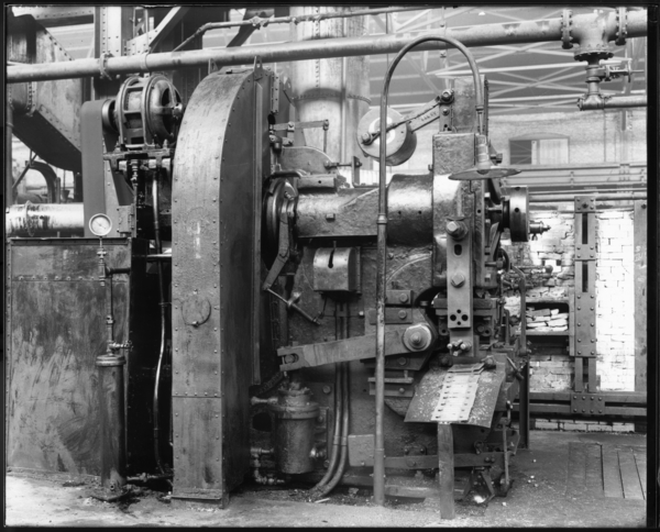 Tie Plate Machine at Merchant Mill